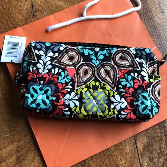 c6f2ec472c Vera Bradley Medium Cosmetic Bag in Sierra